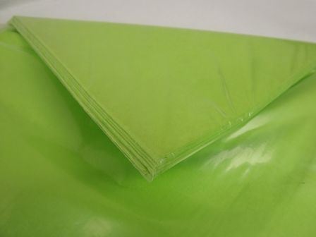 20 x 30inch Lime Green Tissue Paper x 240 Sheets