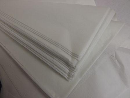 20 x 30inch White Tissue Paper x 240 Sheets
