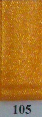 Double Face Satin 3.5mm x 50Mtr Light Orange