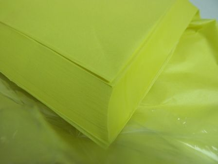 20 x 30inch Yellow Tissue Paper x 240 Sheets