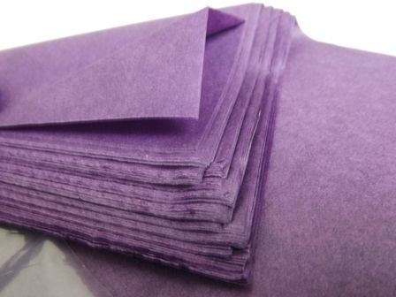 20 x 30inch Violet Tissue Paper x 240 Sheets