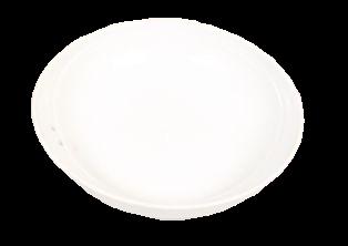 6inch White Acrylic Dish