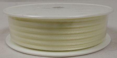 Basic Stripes Ribbon 25mm x 25mtr Ecru