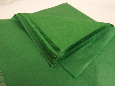 20 x 30 Dk Green Tissue Paper x 240 Sheets