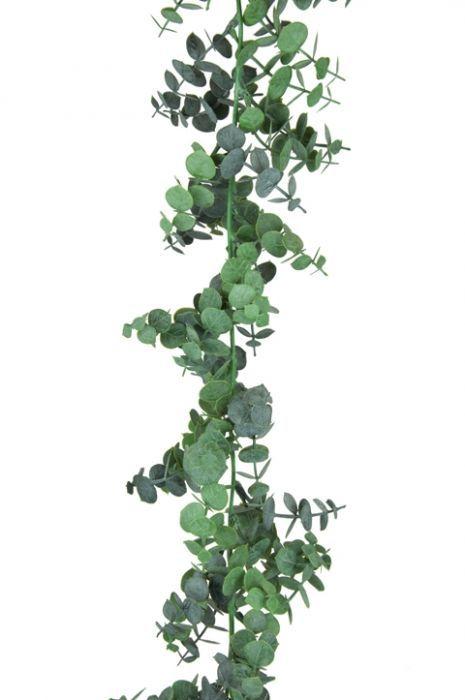 Spiral Eucalyptus Garland 180cm Green