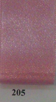 Double Face Satin 25mm x 25mtr Old Pink