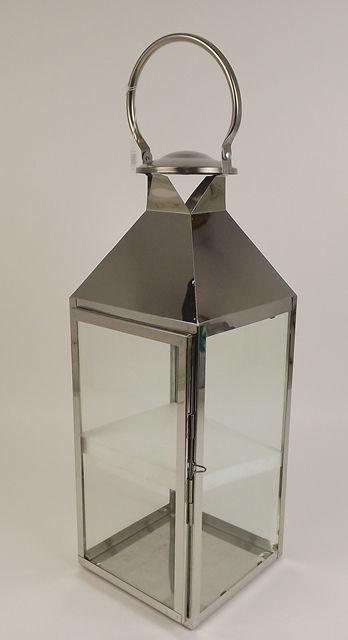 50cm Stainless Steel Lantern