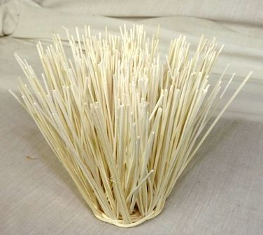 Rattan Core Round Small 6 x 13cm Bleached