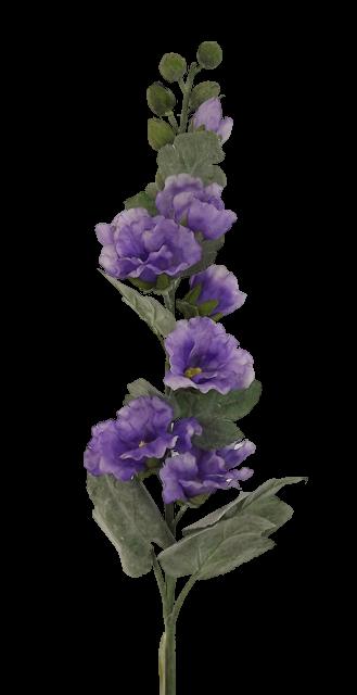 83cm Holly Hock Purple