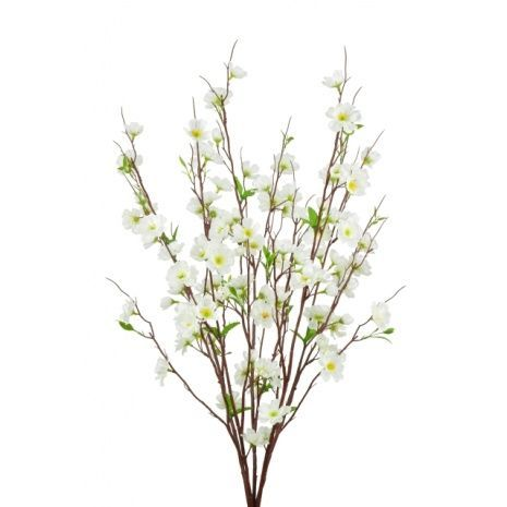 Apple Blossom Bush 73cm Cream