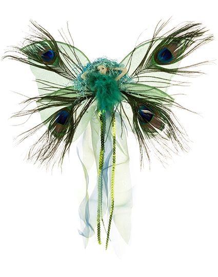 Fairy - Peacock Heartwand 38cm