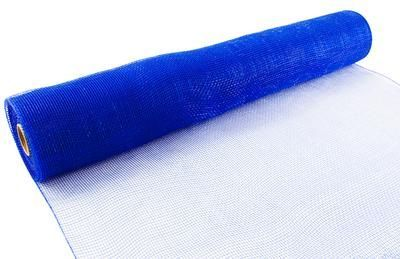 Eleganza Deco Mesh 53cm x 9.1m (10yds) Royal Blue