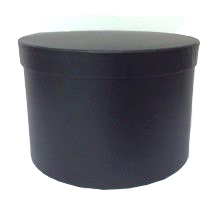 Black Hatbox D - 21cm