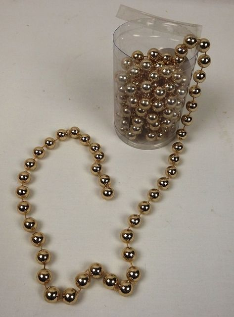 14mm Pearl Chain Band Rose Gold 3mtr