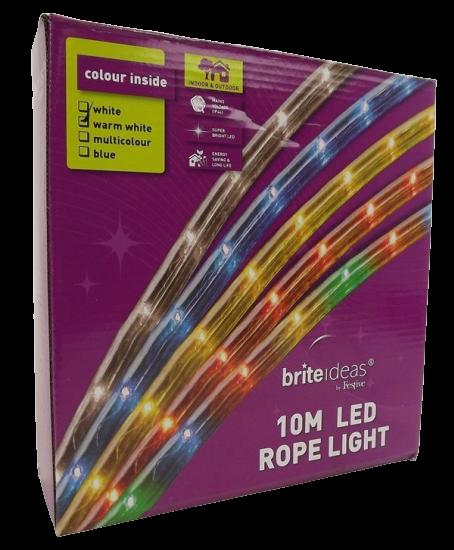 1000Cm Warm White 240 Led Rope Light