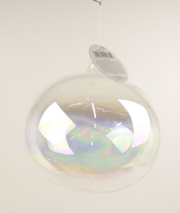 15Cm Iridescent Bubble Ball