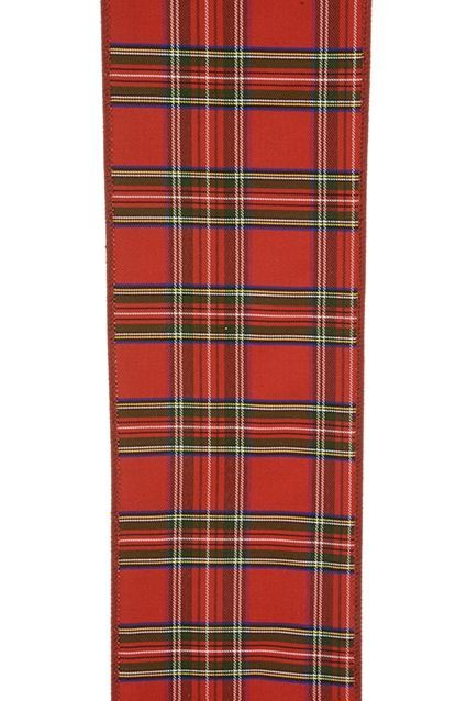 Dundee Tartan Ribbon 10cm x 9mtr