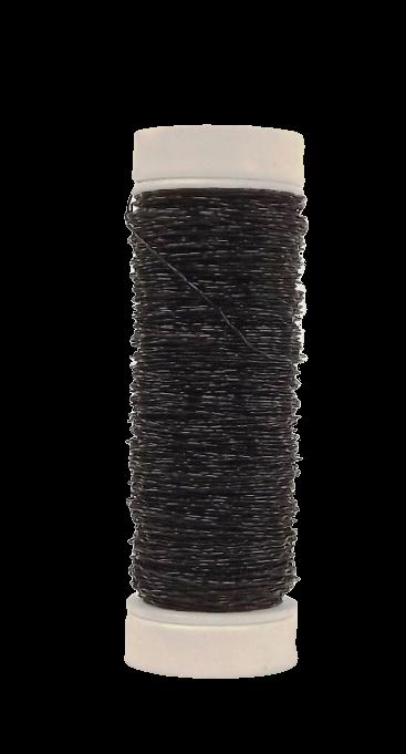 Bullion Wire Black (0.3mm x 25g)