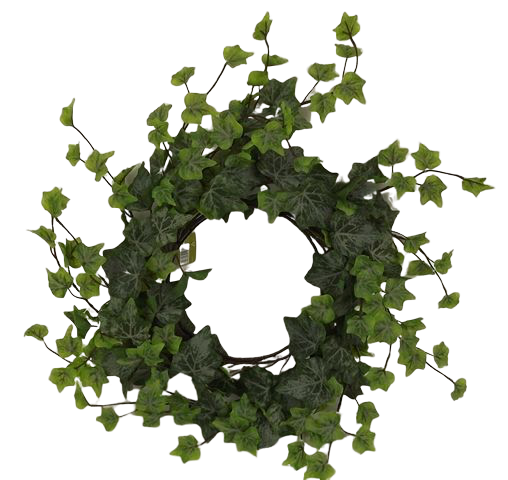 38cm Outdoor Ivy Wreath WR Green