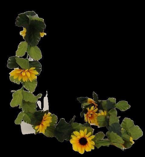 165cm Sunflower Garland