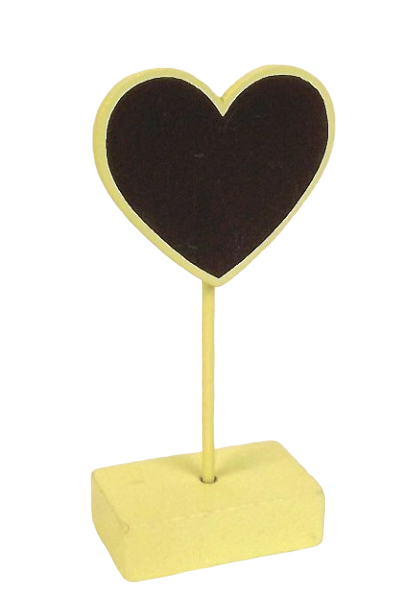 Card Holder Heart x 6pcs