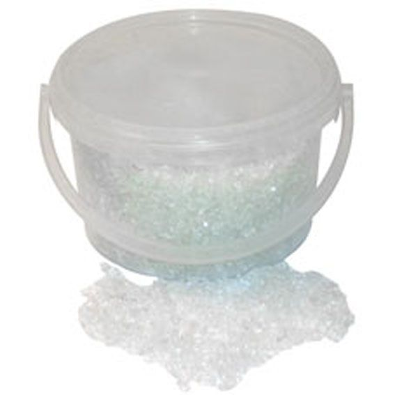 3.5kg Bucket 2-4mm Glass Sand Clear