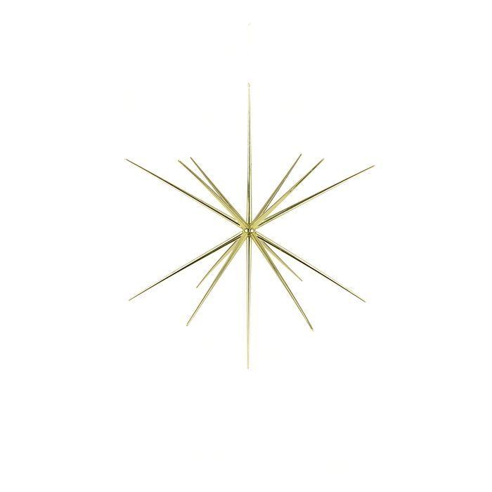 3D Starburst Hanger 36cm Gold