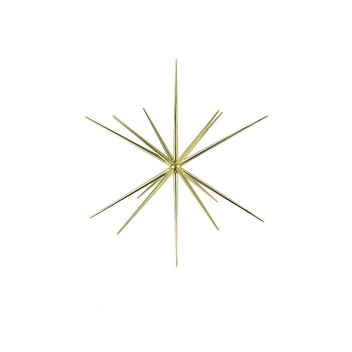 3D Starburst Hanger 30cm Gold