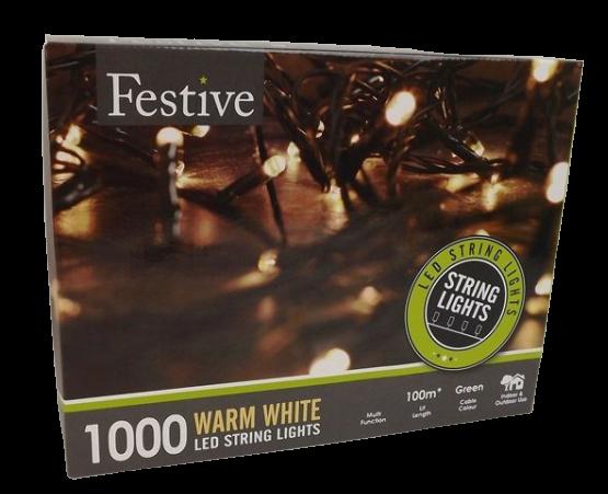 1000 String Leds Warm White