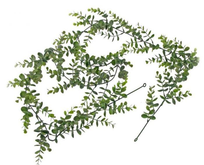 Eucalyptus Garland Green/Grey 182cm