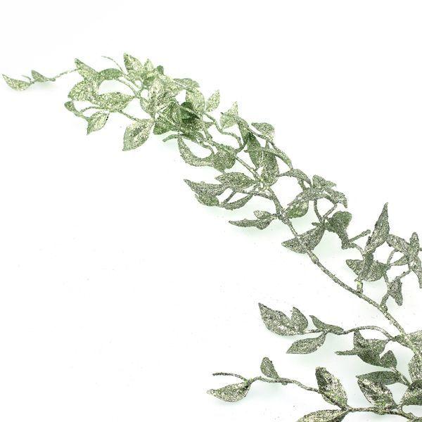 180cm Honeysuckle Garland Green