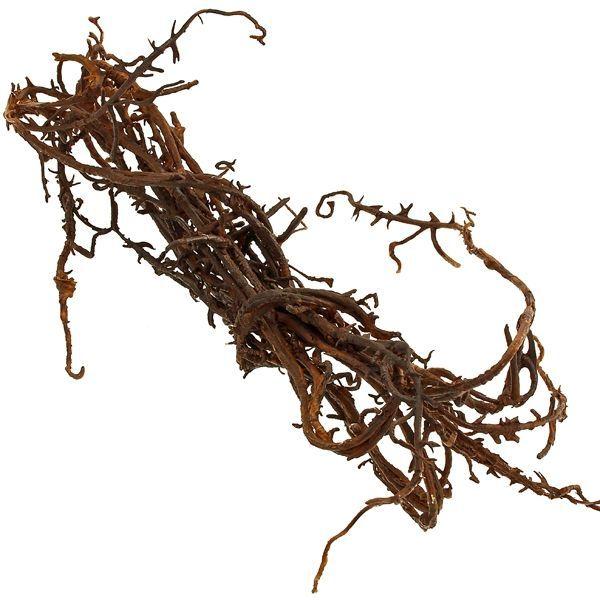 180cm Twig Garland Brown