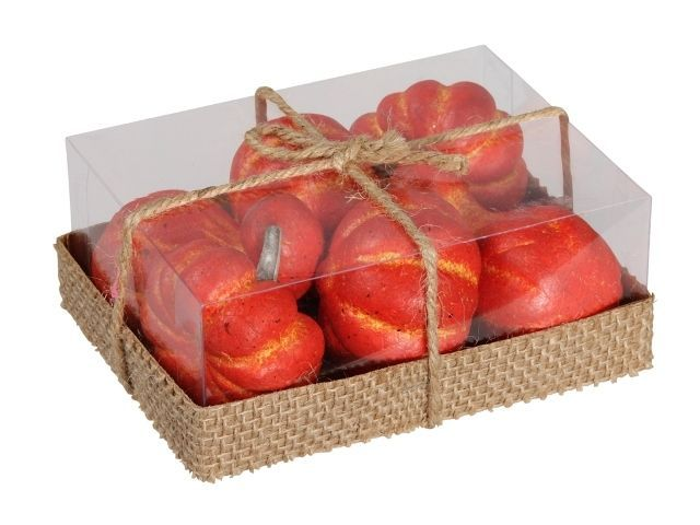 Cb. 6 Pumpkins/Loose Orange Assorted