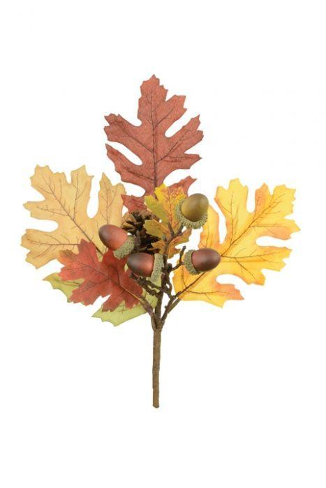 Autumn Oak Pick 30cm