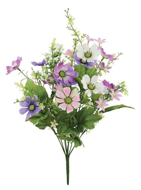Cosmos/Viburnum/Blossom Bush Pink/Purple