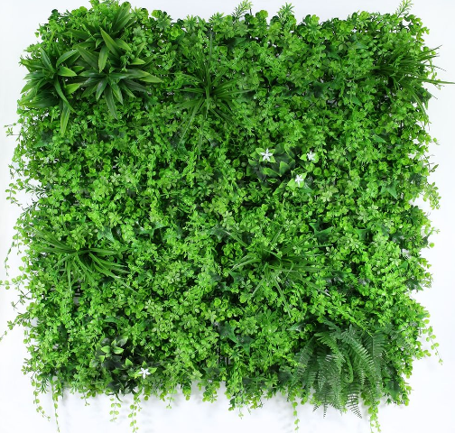 Exterior UV Resistant Tropical Green Wall 1 x 1mtr