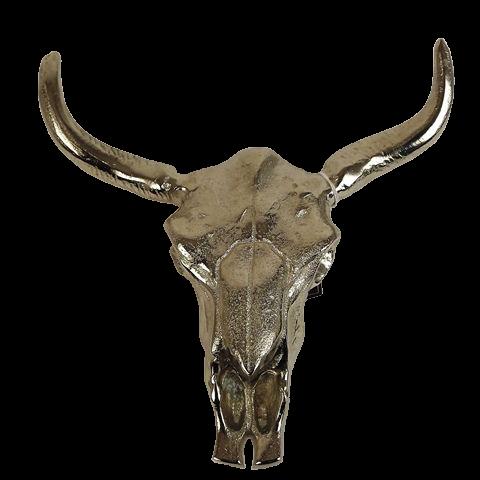 23X23 Wall Hanging Cow Head