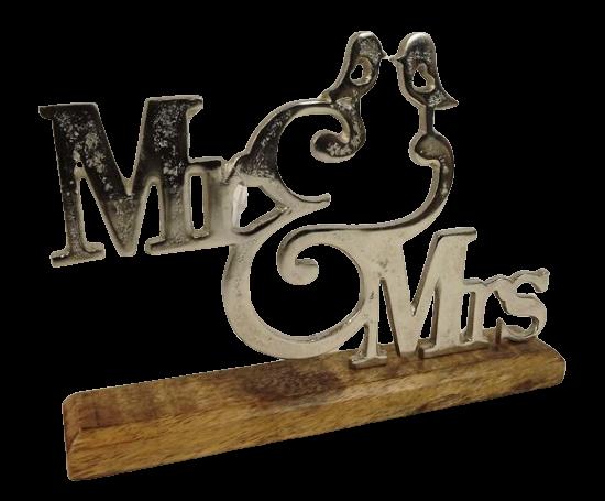 Aluminium Mr & Mrs