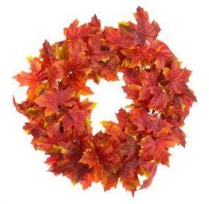 Autumn Maple Wreath 61cm