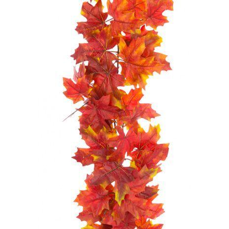 Autumn Maple Garland 152cm