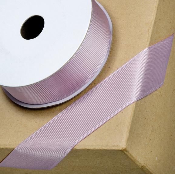 Grosgrain Ribbon 16mm x 10mtr Mauve